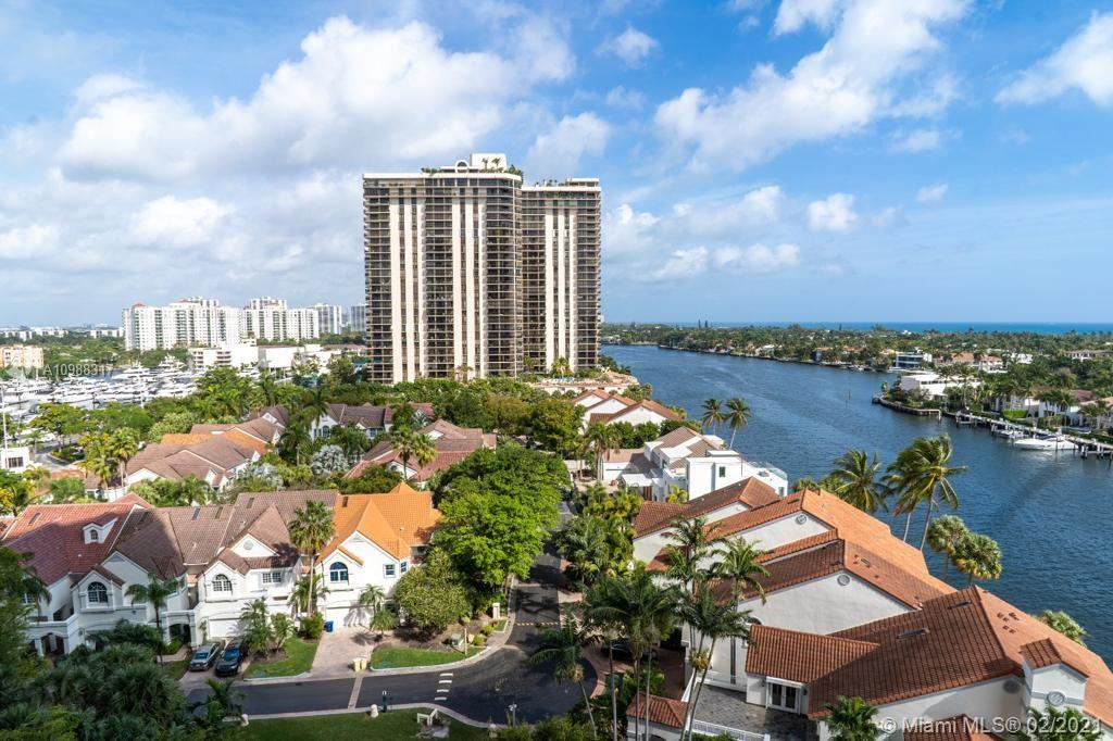Photo of 19355 Turnberry Way #9L, Aventura, Florida, 33180 - NE exposure from the balcony
