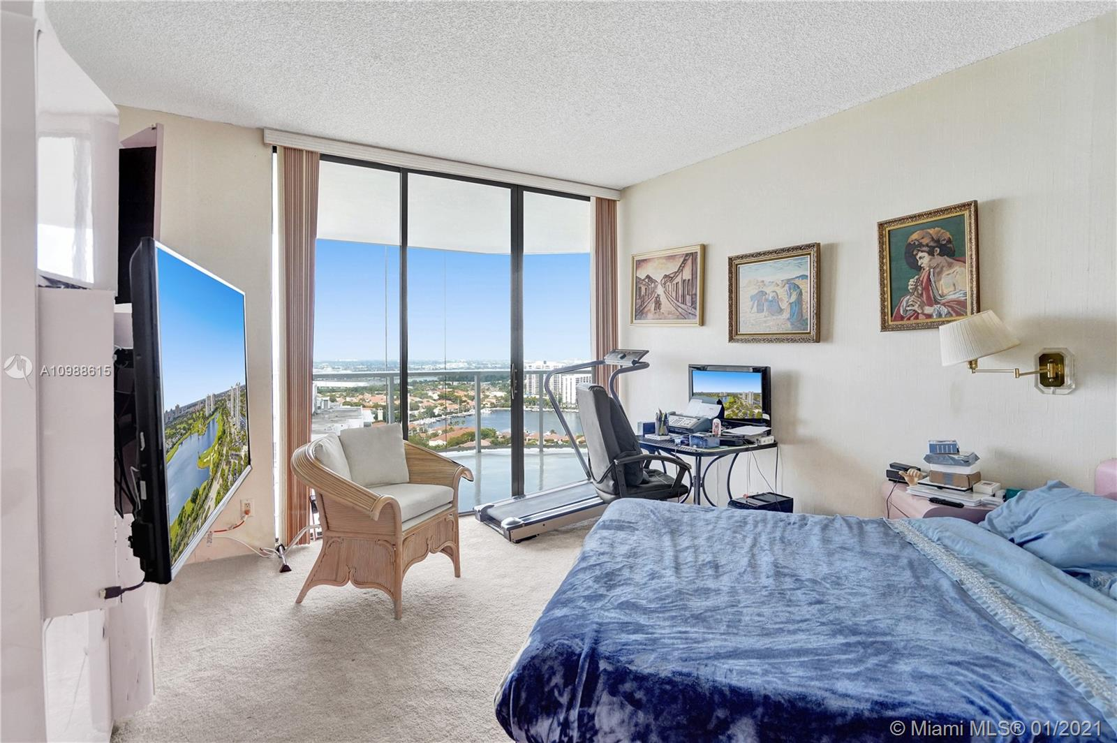 Photo of 20281 Country Club Dr #2407, Aventura, Florida, 33180 - Imagine having breakfast with this view.