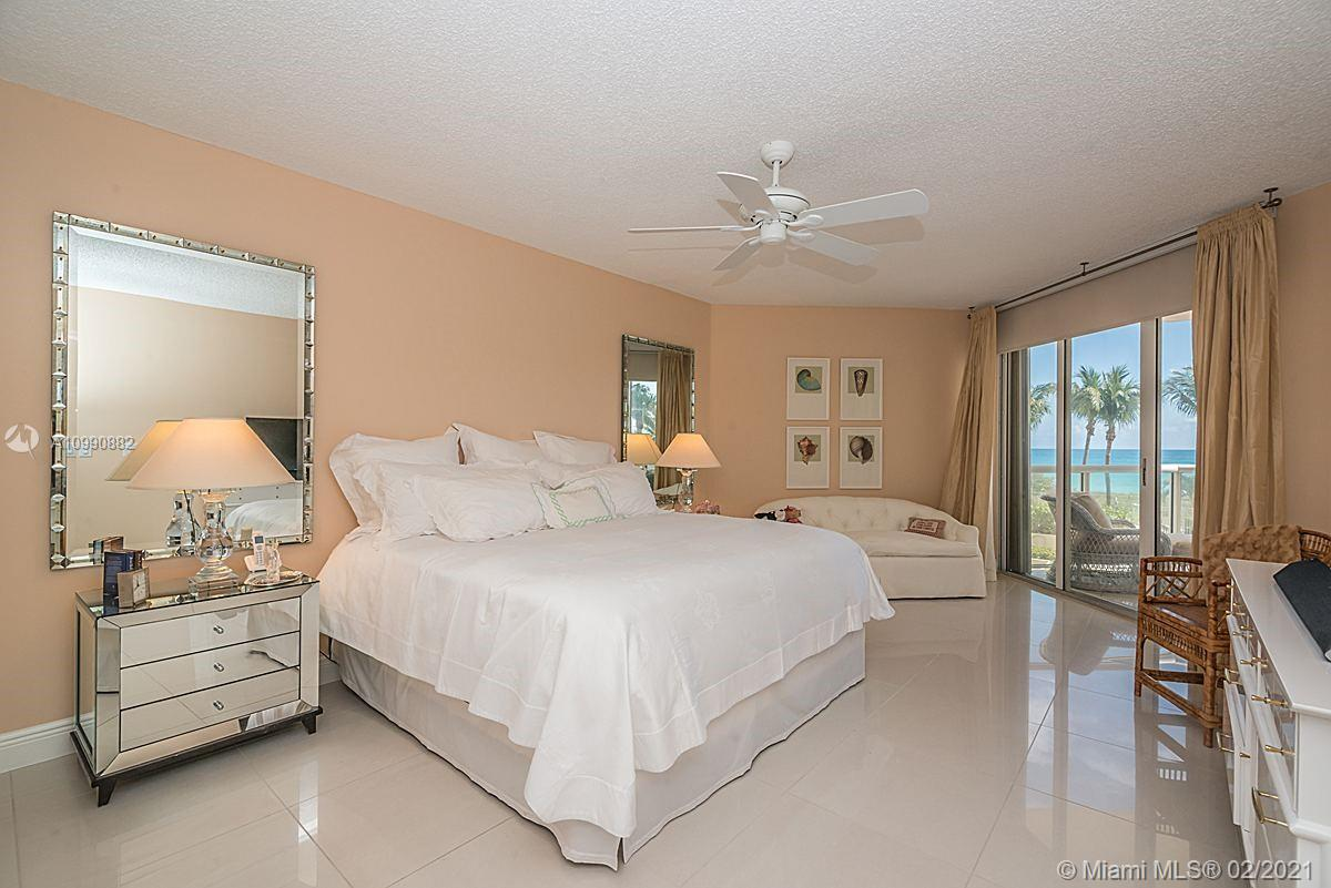 Photo of 8925 Collins Ave #2H, Surfside, Florida, 33154 - View from the master bedroom.