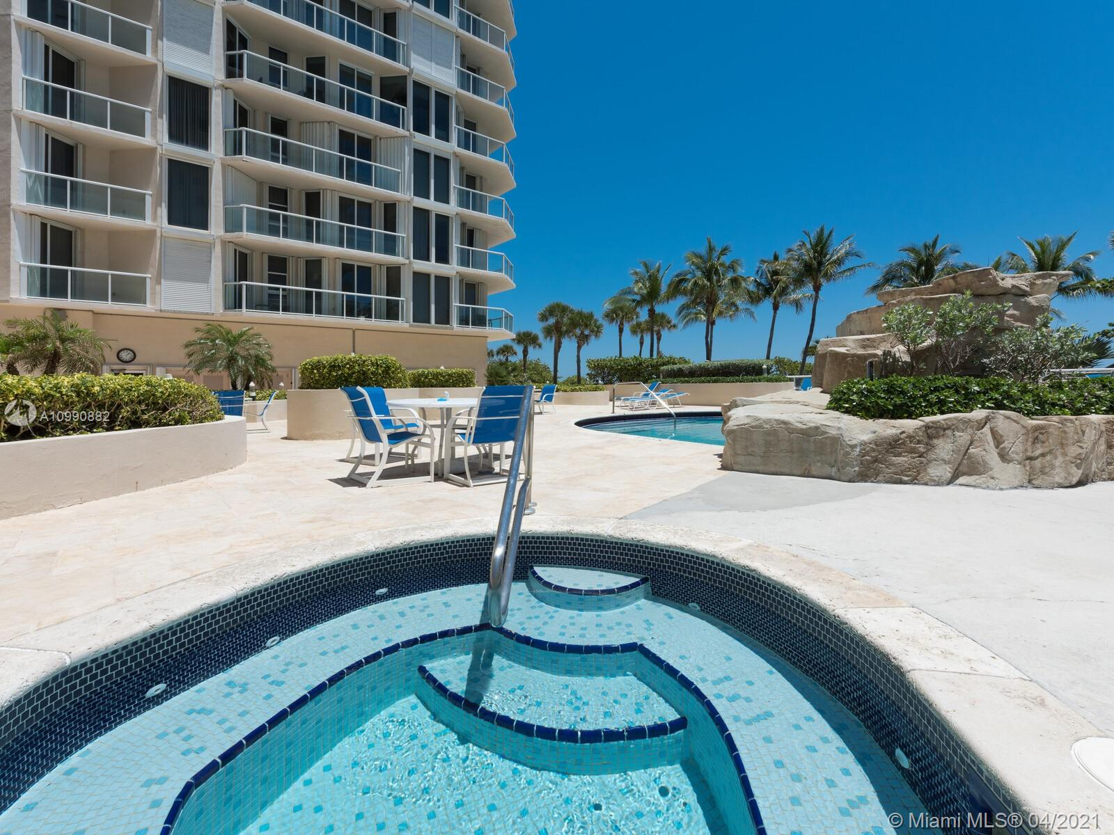 Photo of 8925 Collins Ave #2H, Surfside, Florida, 33154 - Pool before renovation.