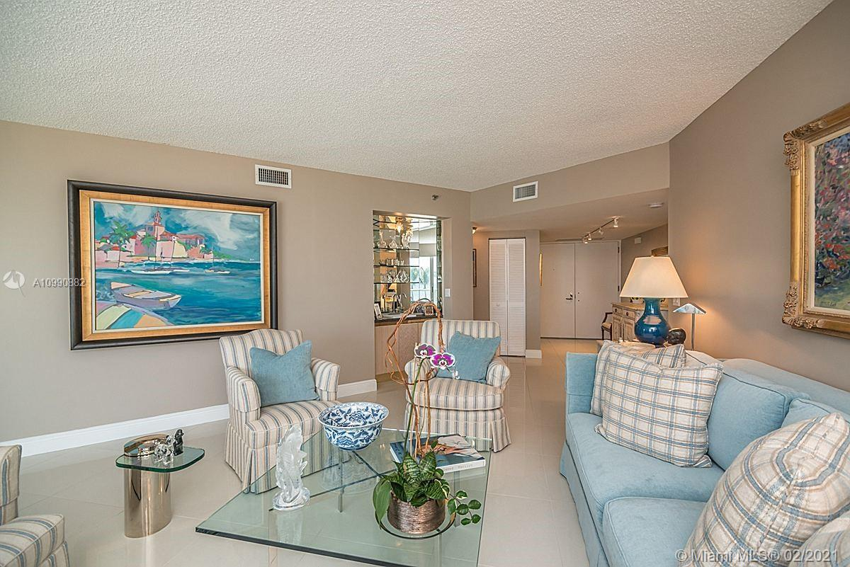 Photo of 8925 Collins Ave #2H, Surfside, Florida, 33154 - View from entrance foyer.