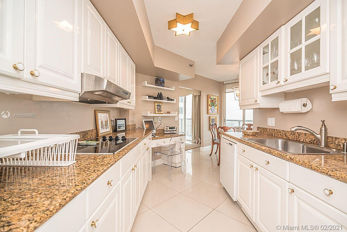 Photo of 8925 Collins Ave #2H, Surfside, Florida, 33154 - Eat in kitchen/breakfast viewing kitchen.