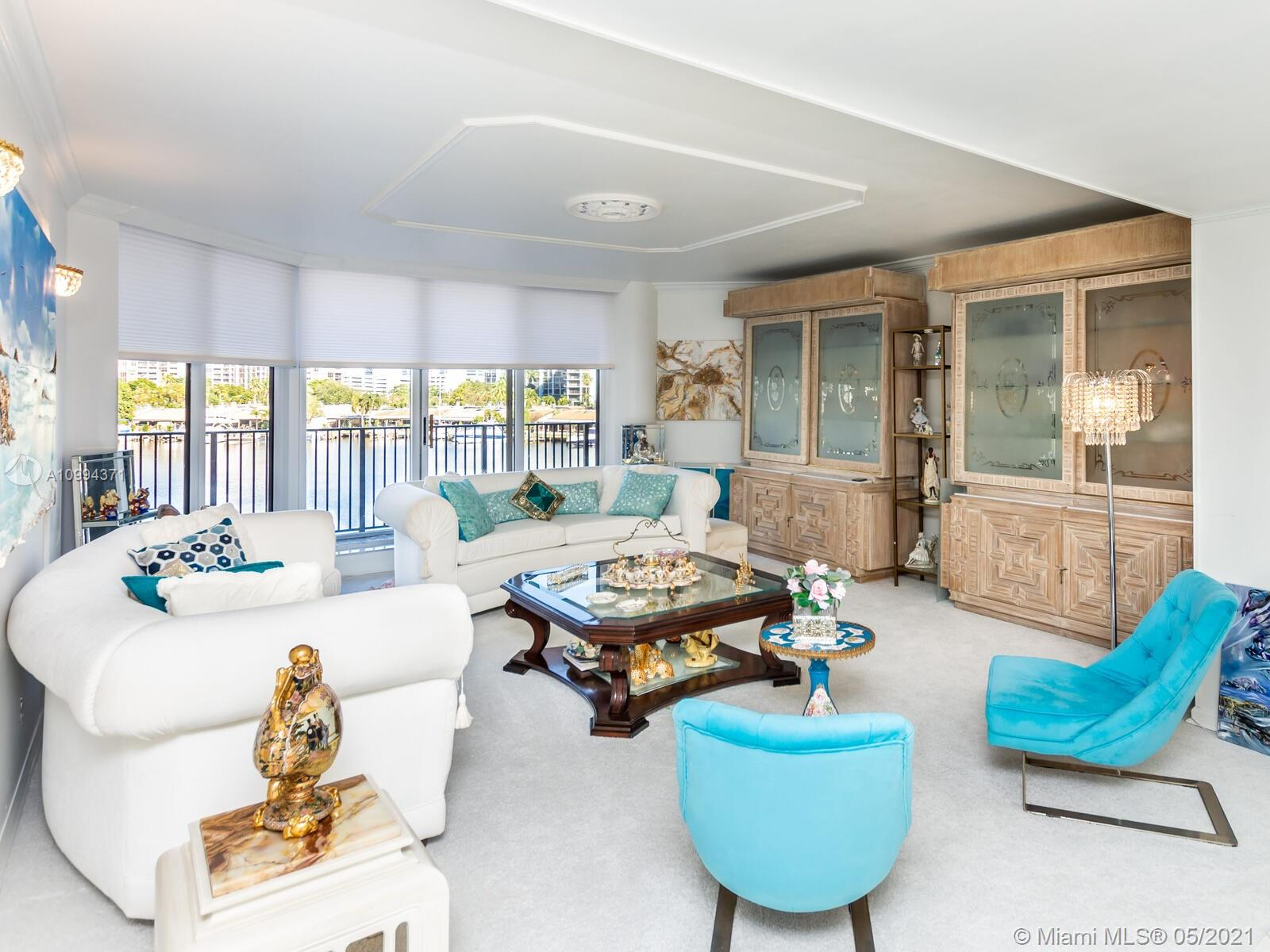 Photo of 300 Three Islands Blvd #402, Hallandale Beach, Florida, 33009 - This is the view from your private balcony