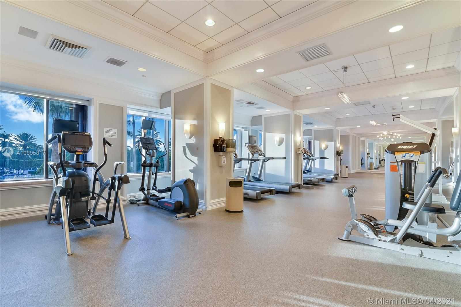 Photo of 9801 Collins Ave #5H, Bal Harbour, Florida, 33154 - Lobby from 3th floor