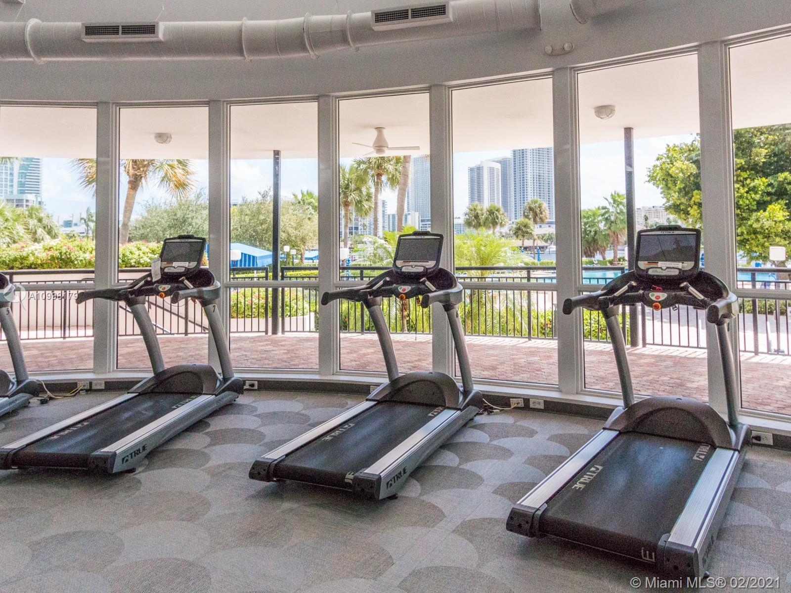 Photo of 500 THREE ISLANDS BL #714, Hallandale Beach, Florida, 33009 - GYM