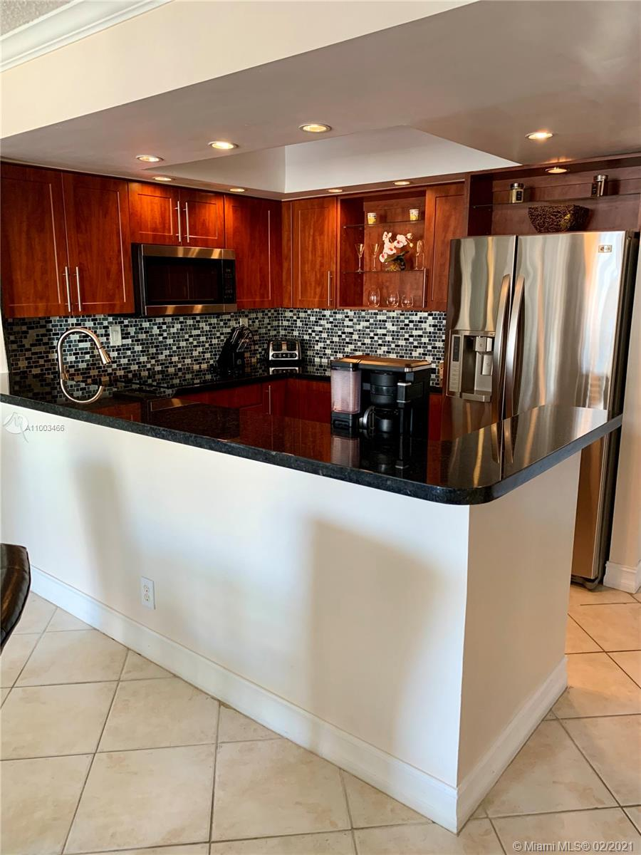 Photo of 600 Three Islands Blvd #1815, Hallandale Beach, Florida, 33009 - OPEN KITCHEN