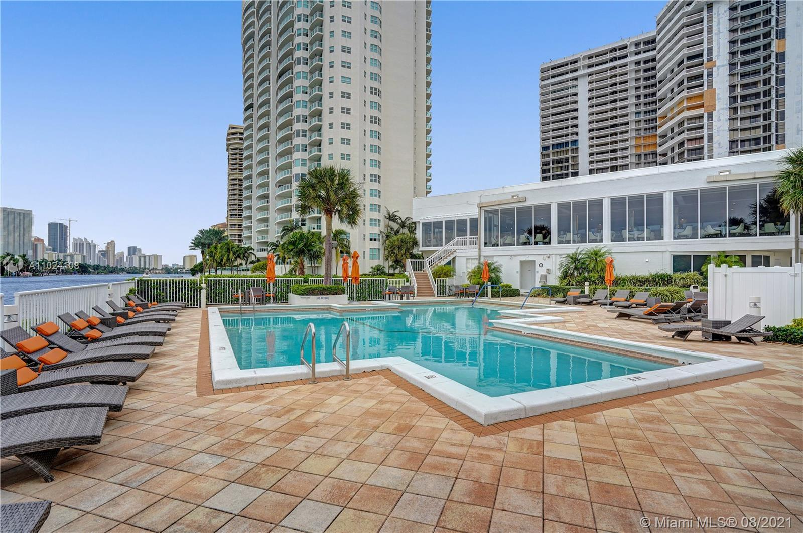 Photo of 20281 Country Club Dr #2407, Aventura, Florida, 33180 - Aqua classes every morning.