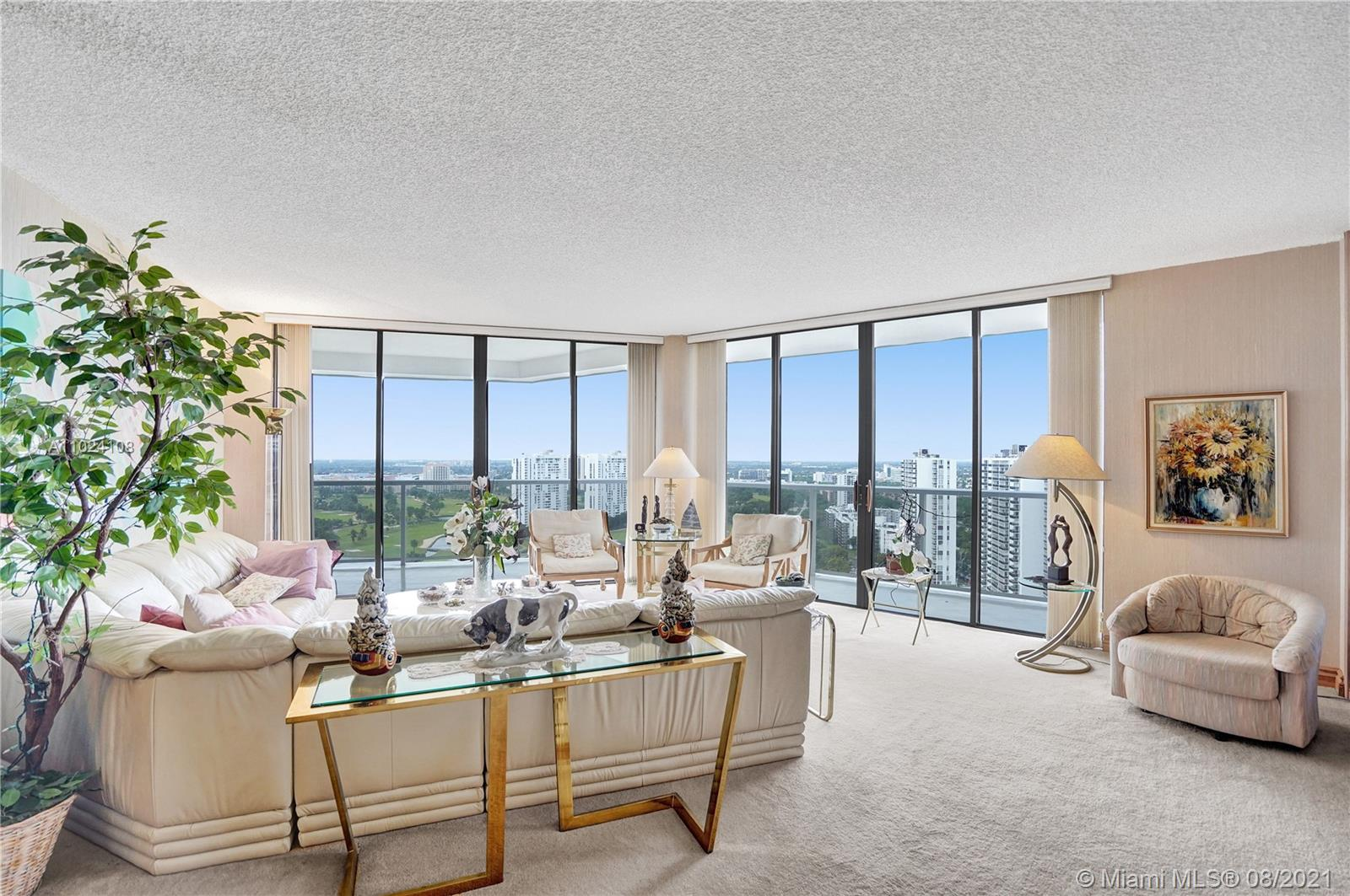 Photo of 20281 Country Club Dr #2407, Aventura, Florida, 33180 - Panoramic views!