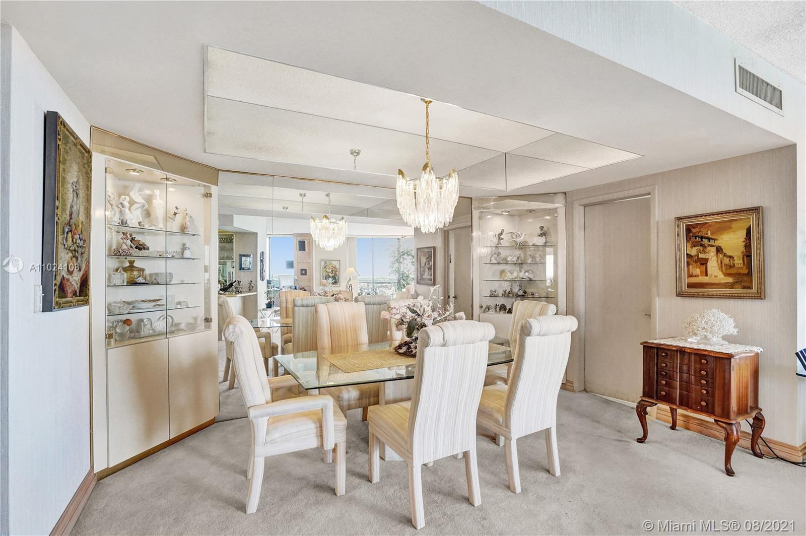 Photo of 20281 Country Club Dr #2407, Aventura, Florida, 33180 - Spacious dinning room.