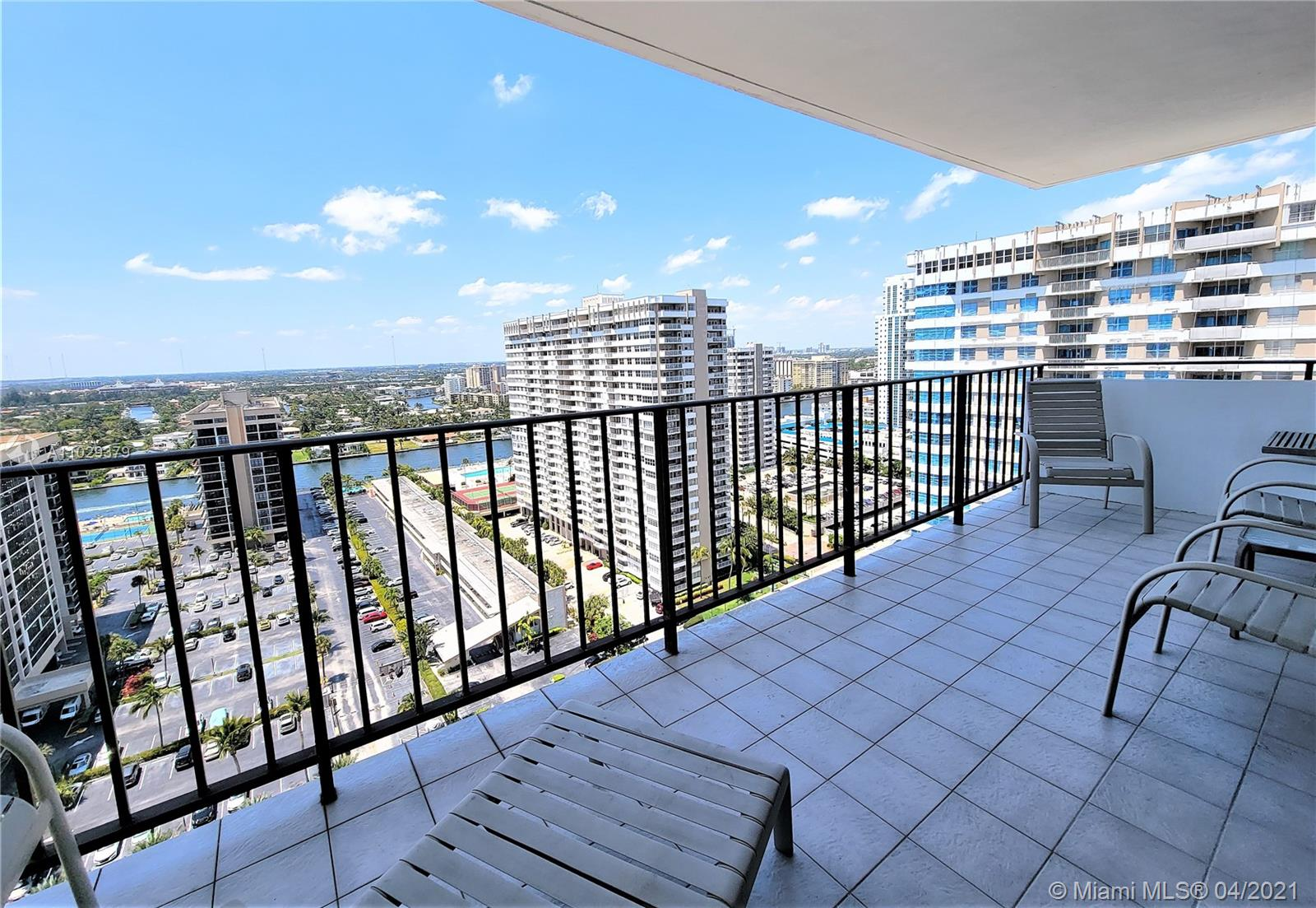 Photo of 2030 Ocean Dr #2026, Hallandale Beach, Florida, 33009 - Large Balconies, Railings Will Be Replaced With Glass Railing