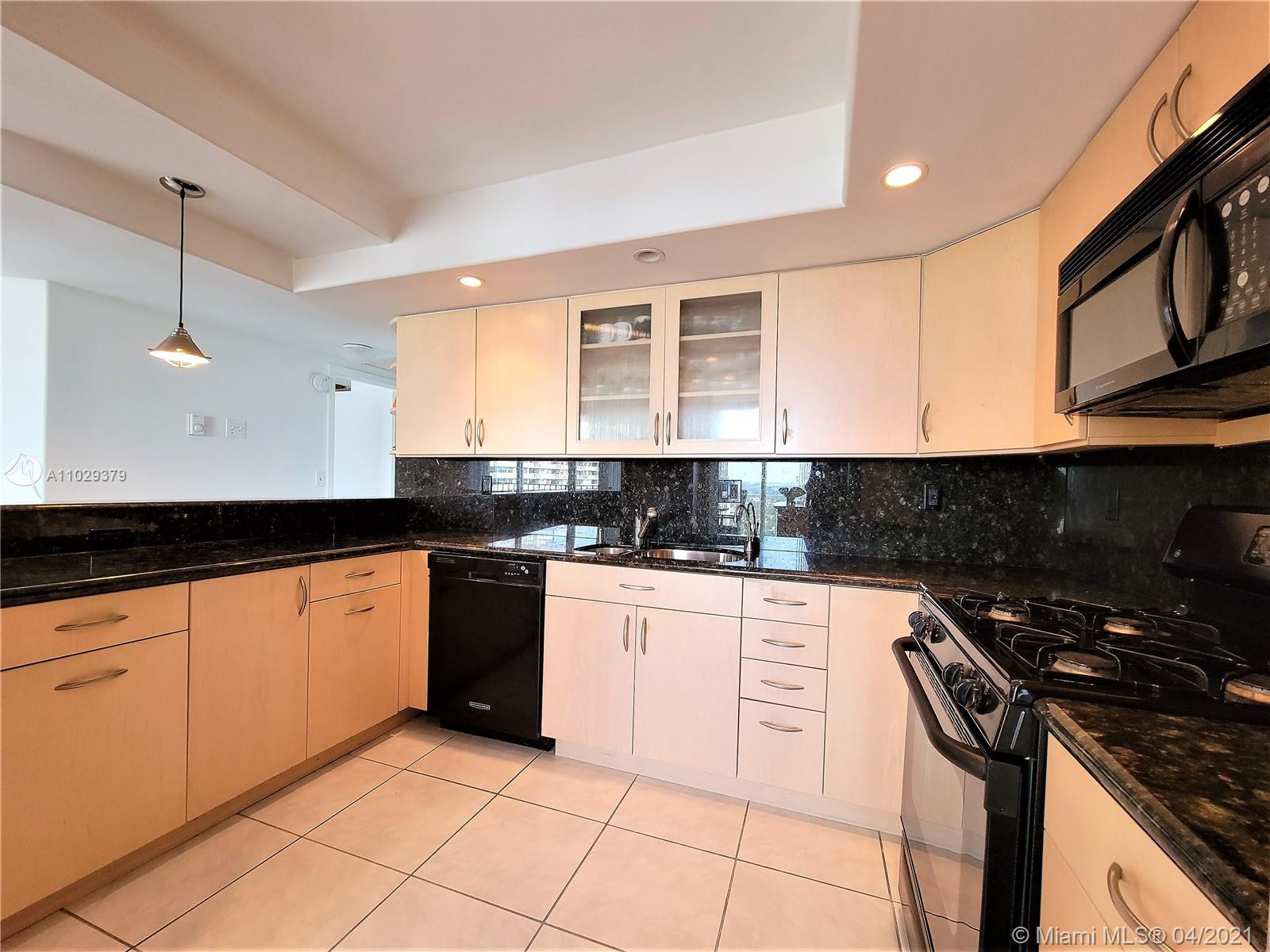Photo of 2030 Ocean Dr #2026, Hallandale Beach, Florida, 33009 - Totally Remodeled, Granite coounter Tops, Open Kitchen Recessed Lighting, Smooth Ceilings and Walls.  Freshly Painted.