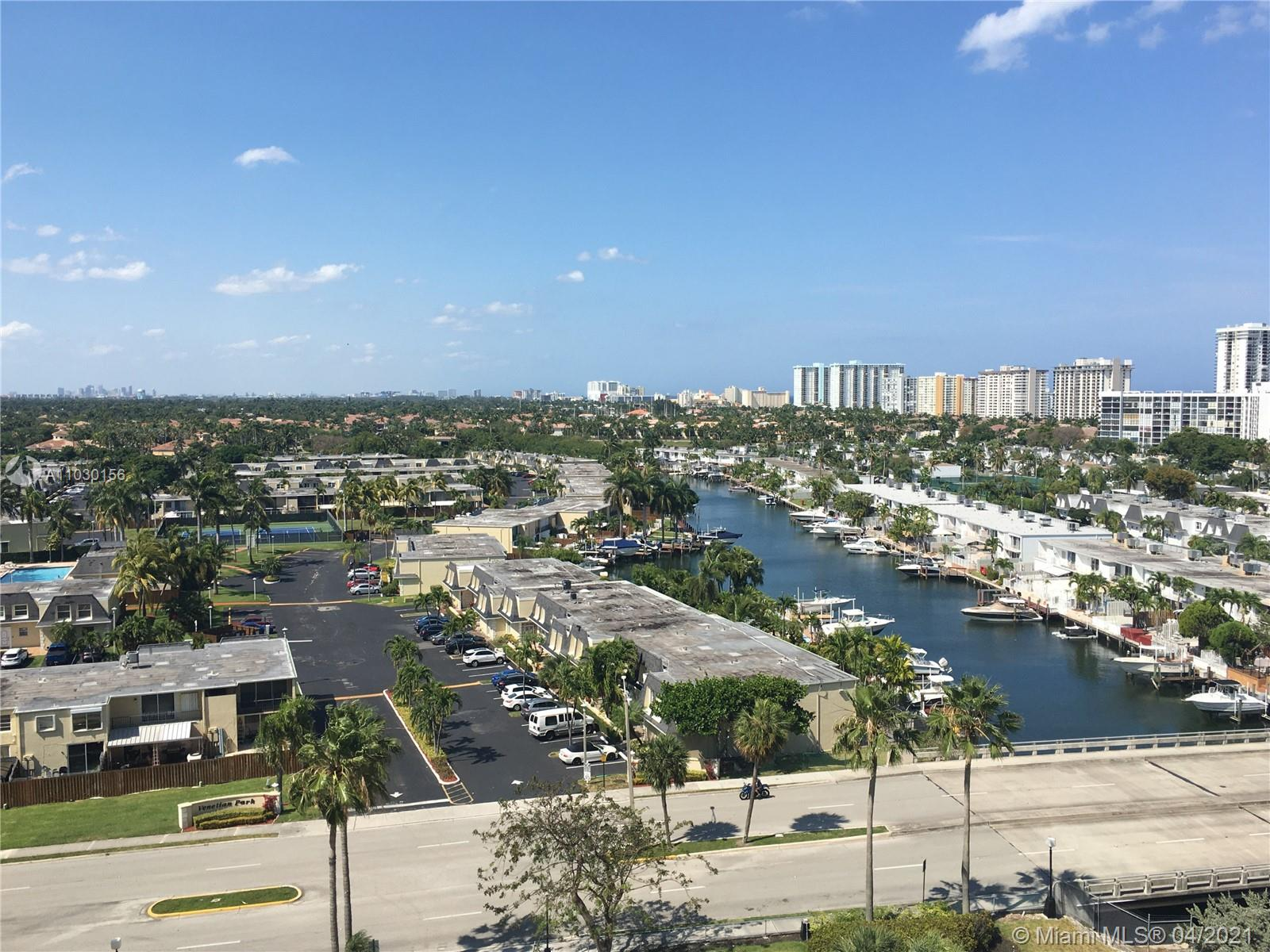 Photo of 2500 Parkview Dr #1108, Hallandale Beach, Florida, 33009 - View from Balcony