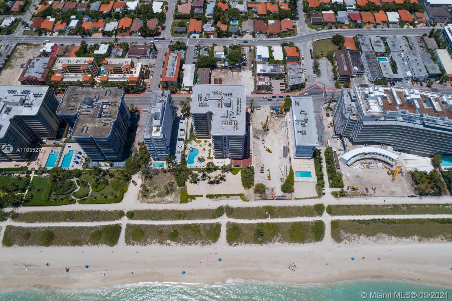 Photo of 8925 Collins Ave #4F, Surfside, Florida, 33154 - Aerial view.