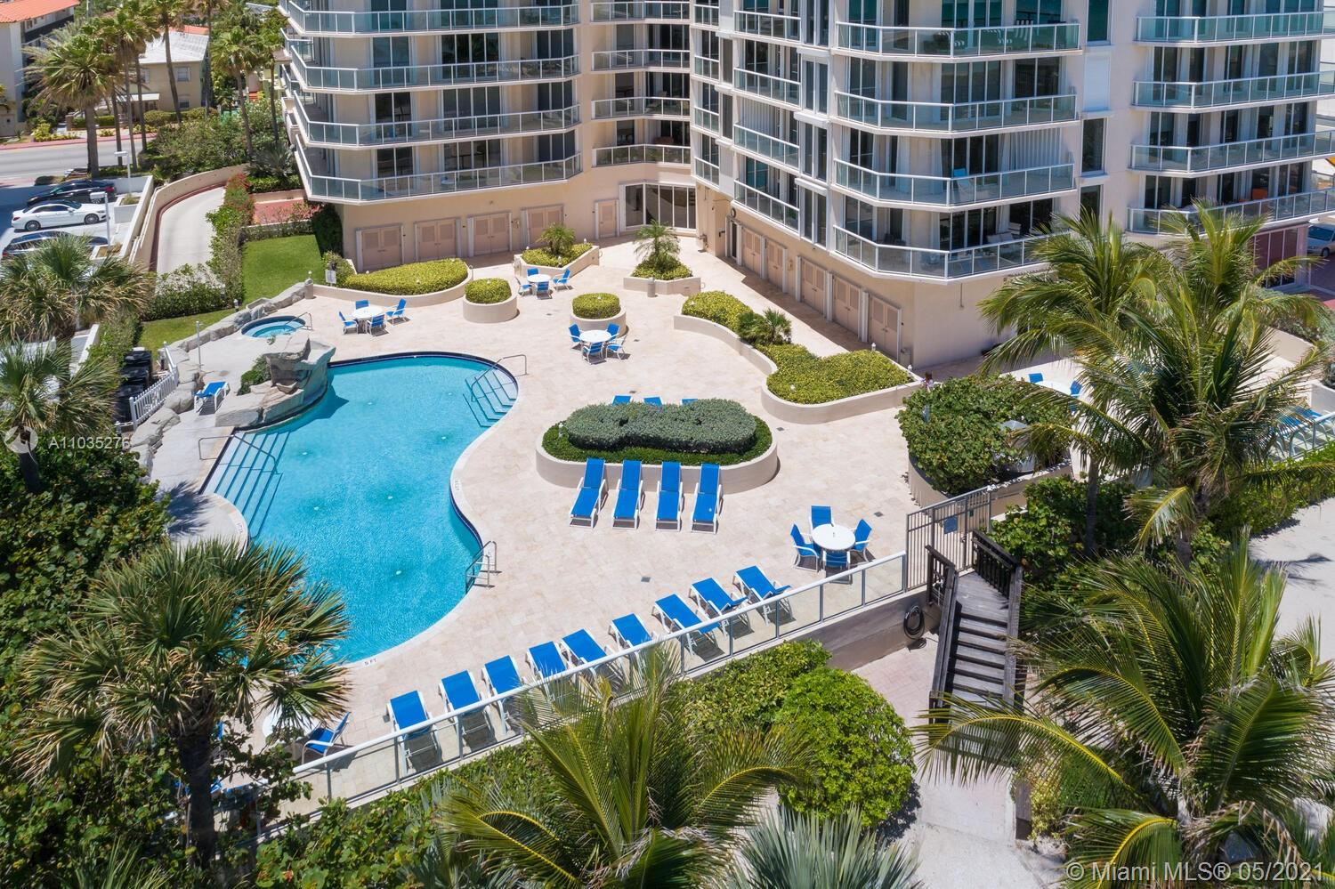 Photo of 8925 Collins Ave #4F, Surfside, Florida, 33154 - Aerial view (prior to construction of Arte).