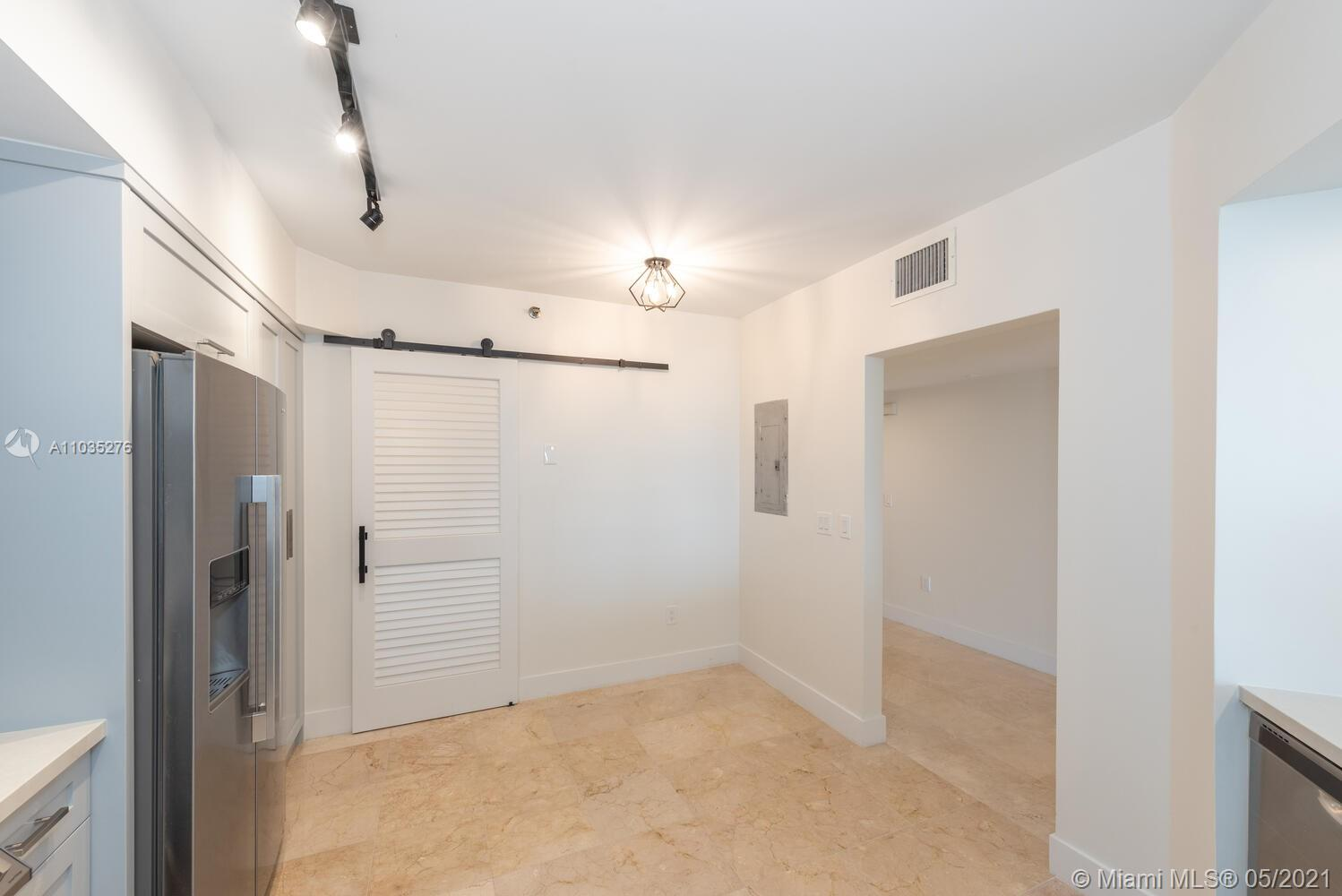Photo of 8925 Collins Ave #4F, Surfside, Florida, 33154 - Viritually staged living room.