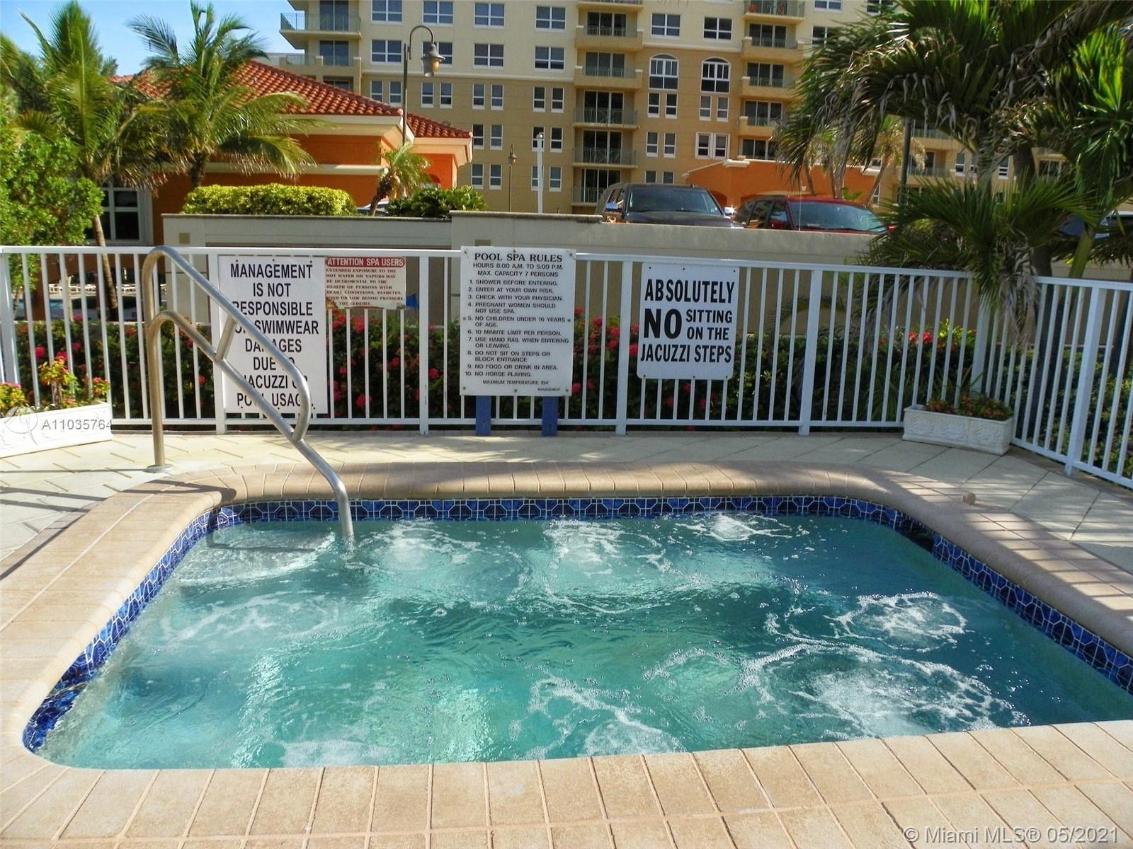 Photo of 2030 Ocean Dr #1804, Hallandale Beach, Florida, 33009 - PARKER PLAZA POOL DECK, DIRECT BEACH ACCESS.  (not the condo view)