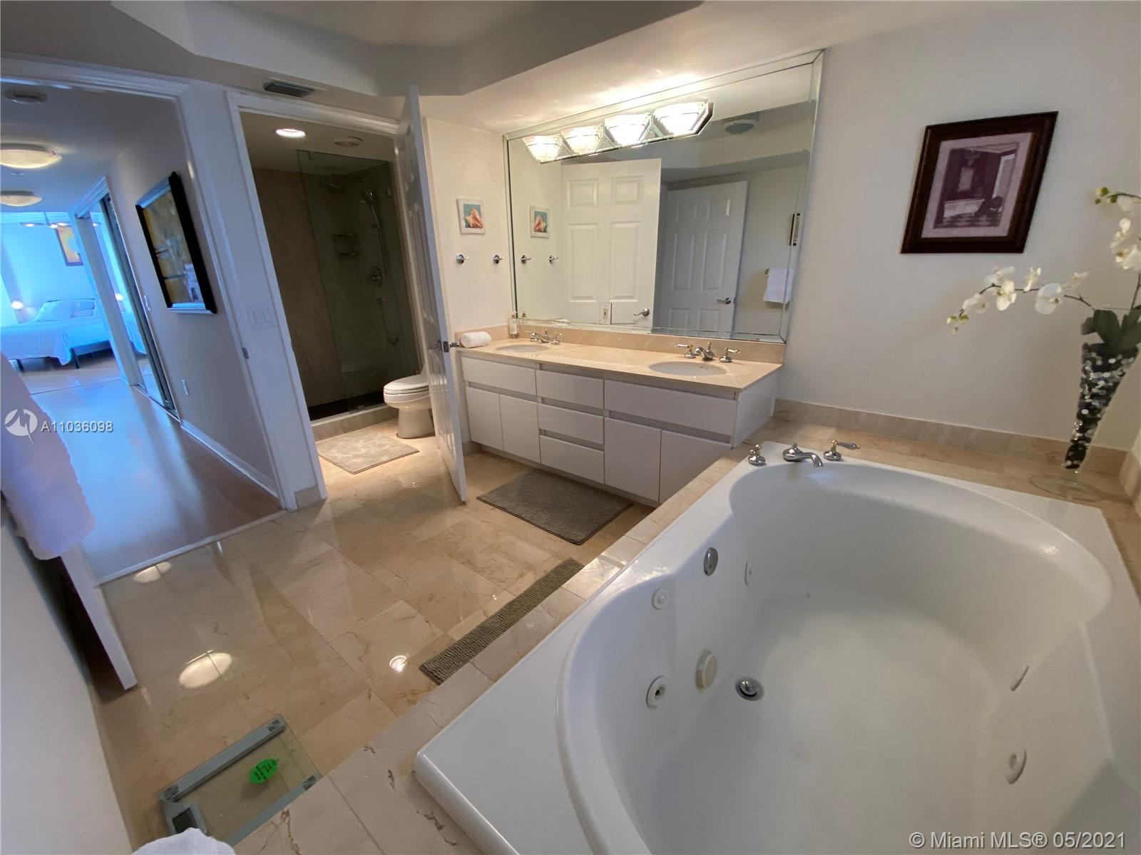 Photo of 16711 Collins Ave #2301, Sunny Isles Beach, Florida, 33160 - MASTER BEDROOM