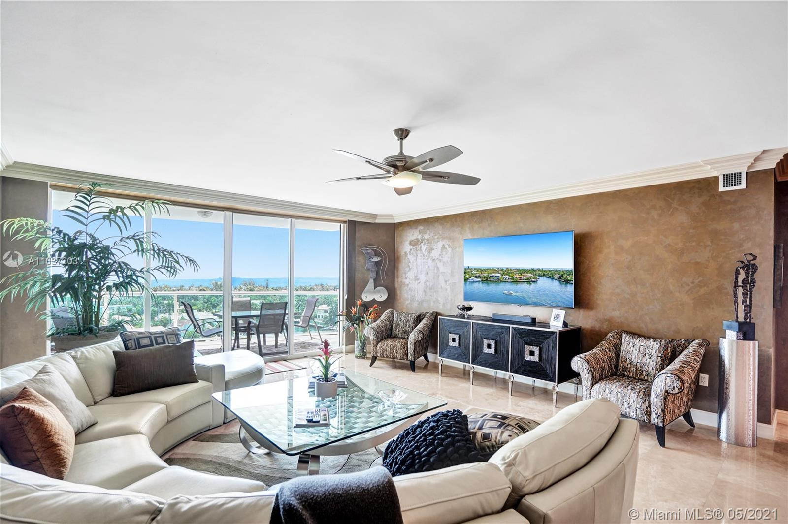 Photo of 20201 Country Club Dr #1006, Aventura, Florida, 33180 - Beautiful double doors open to the unit, from a private elevator.
