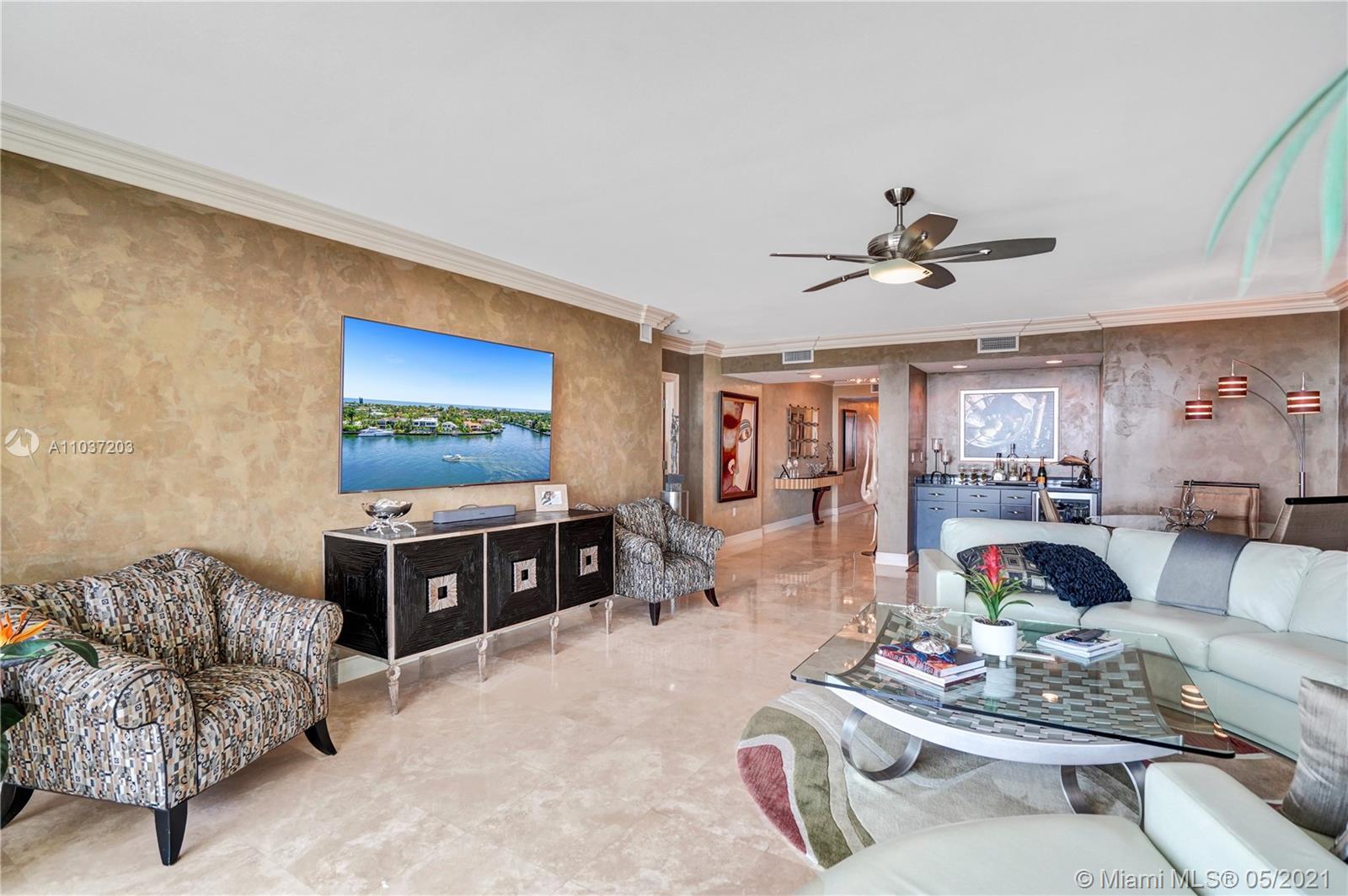 Photo of 20201 Country Club Dr #1006, Aventura, Florida, 33180 - Elegant entrance, private elevator.