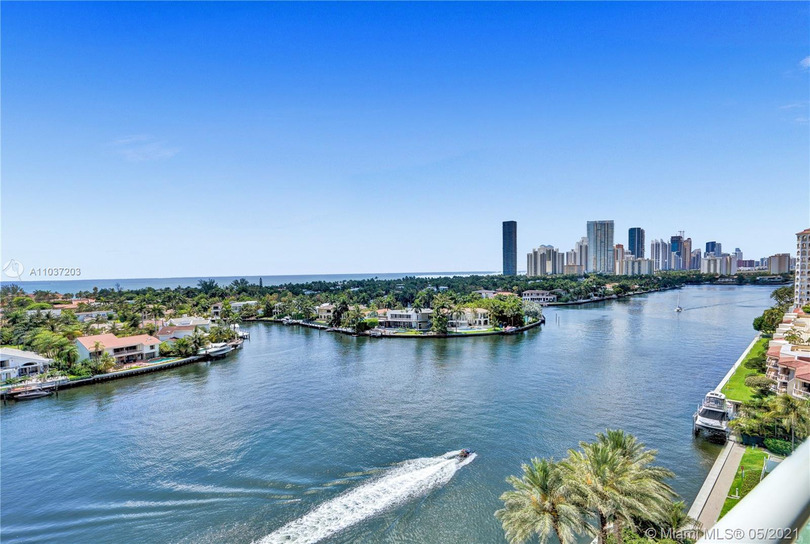 Photo of 20201 Country Club Dr #1006, Aventura, Florida, 33180 - Ocean and Intracoastal views.