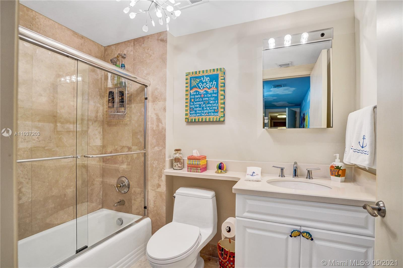 Photo of 20201 Country Club Dr #1006, Aventura, Florida, 33180 - Secoand bedroom with a Caribean feel.