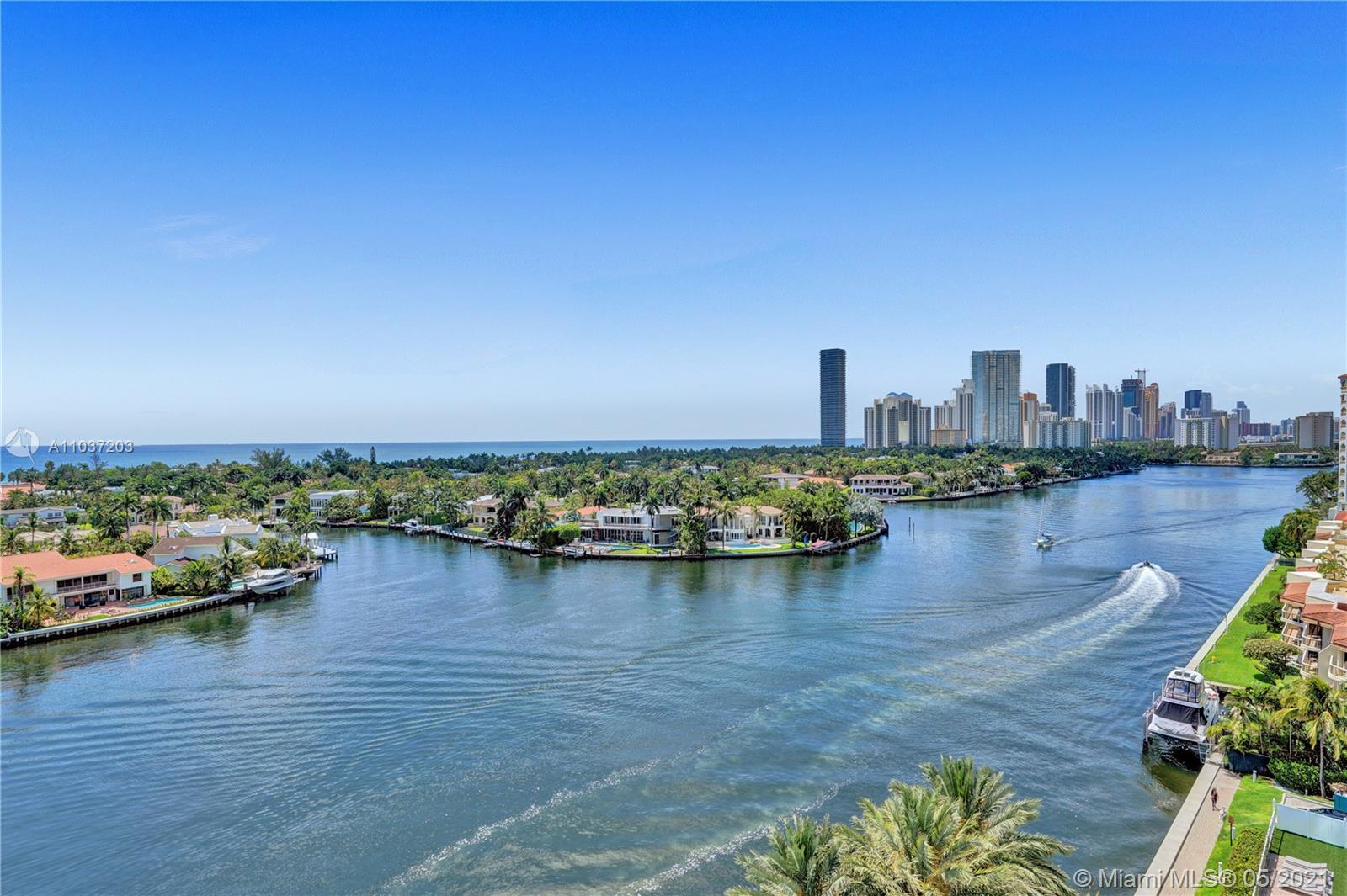 Photo of 20201 Country Club Dr #1006, Aventura, Florida, 33180 - View of the infinity pool.