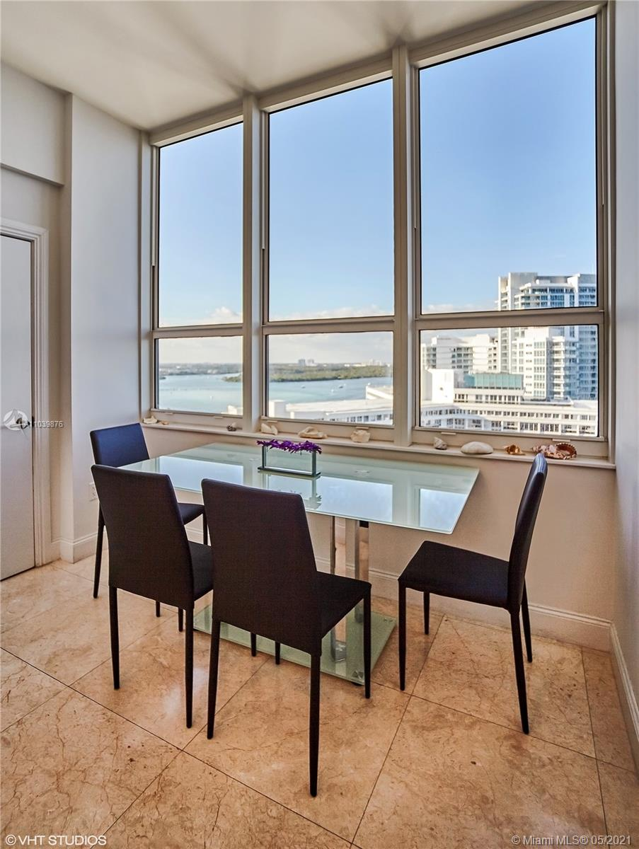Photo of 10225 Collins Ave #1703, Bal Harbour, Florida, 33154 - First bedroom overlooking the Intracoastal Waterway, Haulover Sandbar, Bal Harbour Village and Downtown Miami Skyline.