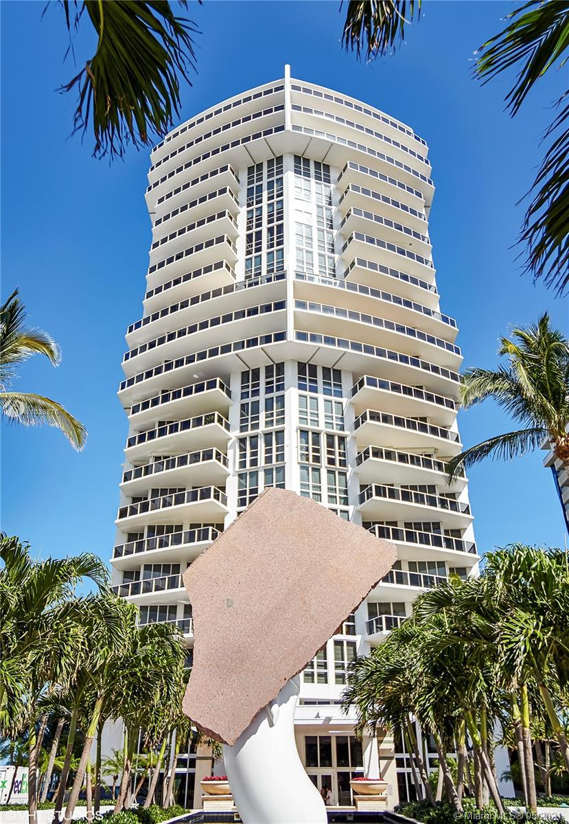Photo of 10225 Collins Ave #1703, Bal Harbour, Florida, 33154 - Grand double-door entrance from private elevator and foyer.