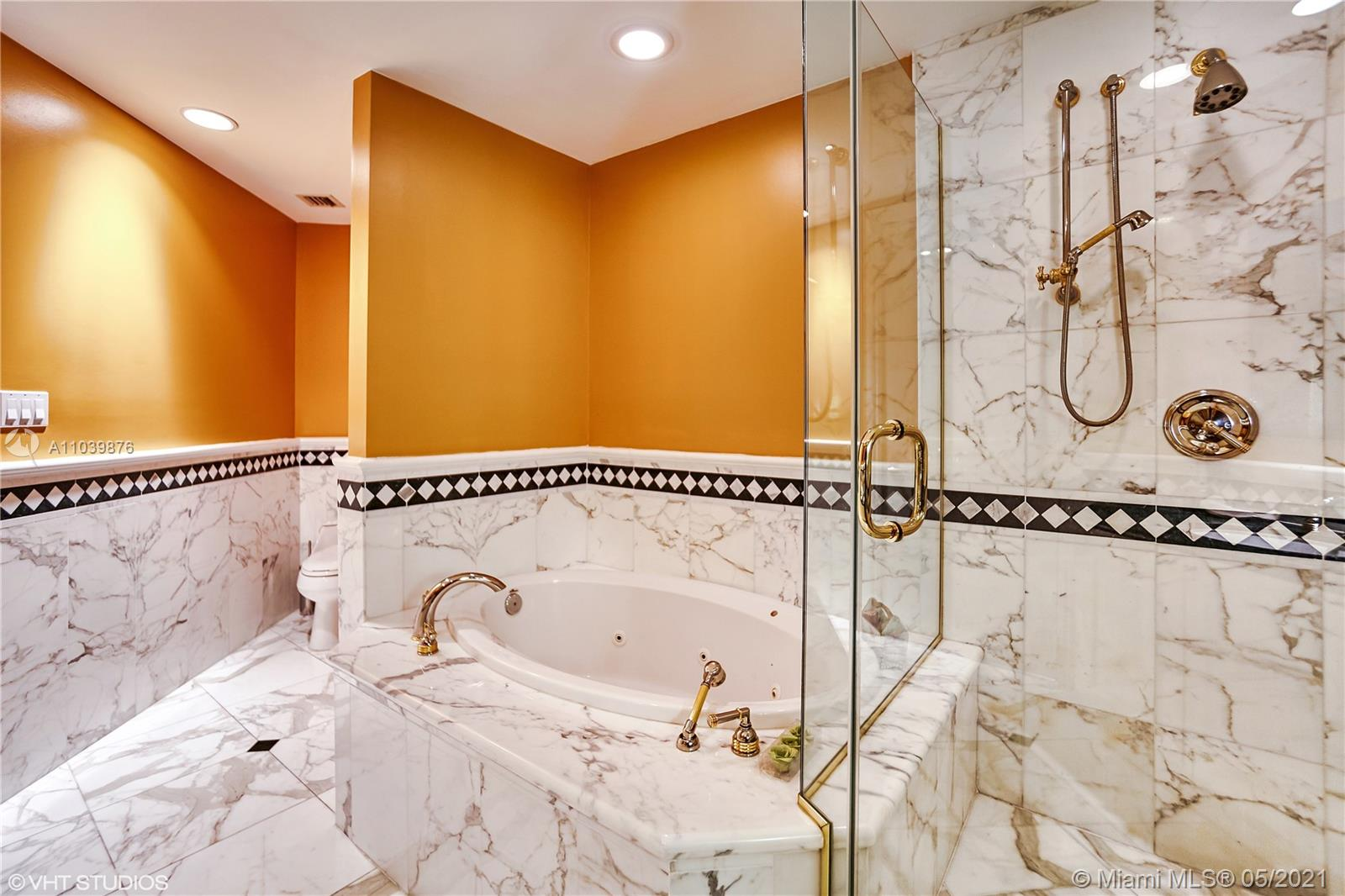 Photo of 10225 Collins Ave #1703, Bal Harbour, Florida, 33154 - Private heated pool and jacuzzi.
