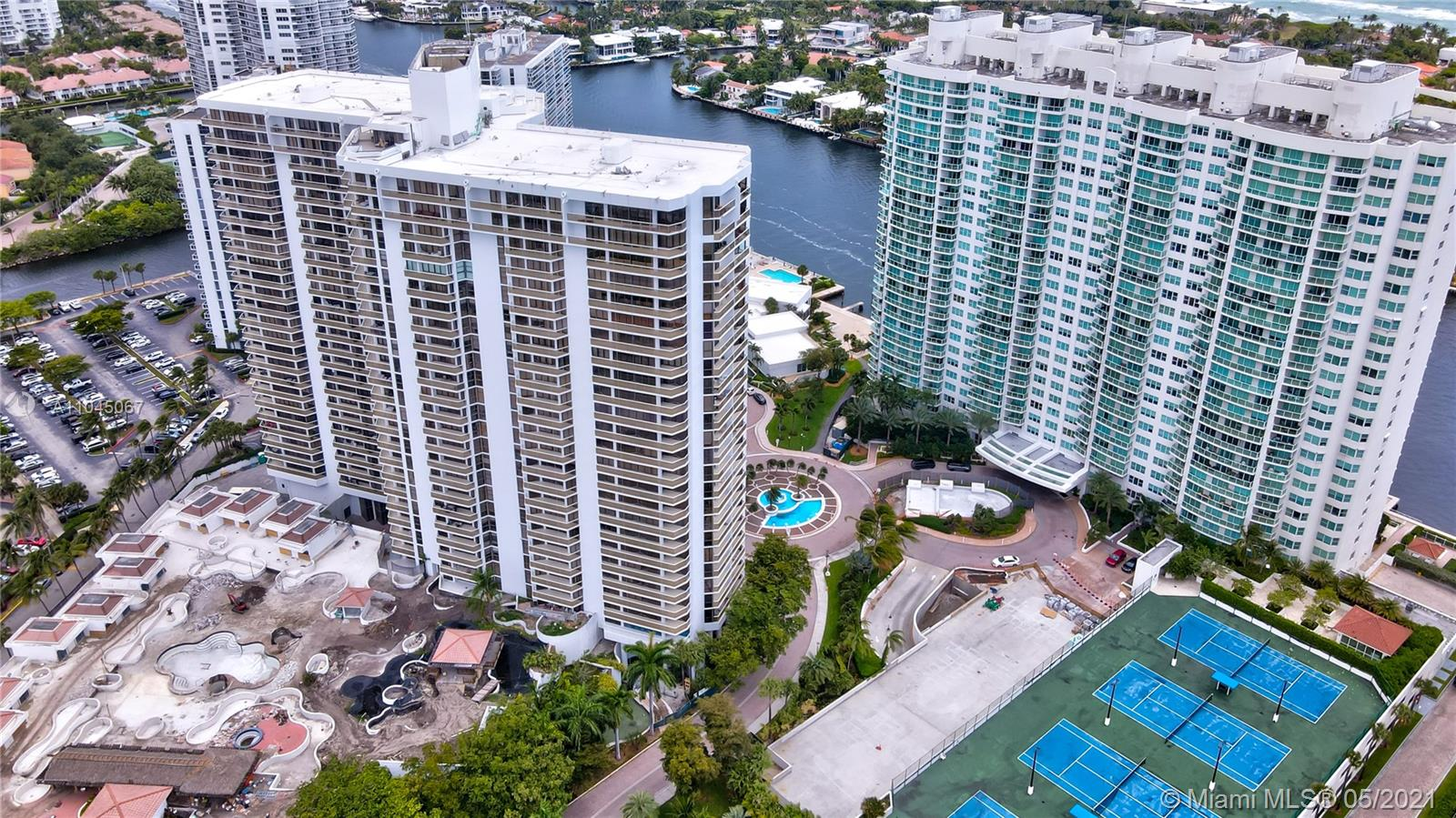 Photo of 20281 Country Club Dr #314, Aventura, Florida, 33180 - Hamptons West Condo - pool deck area, located on top of the parking garage, is currently under renovation.