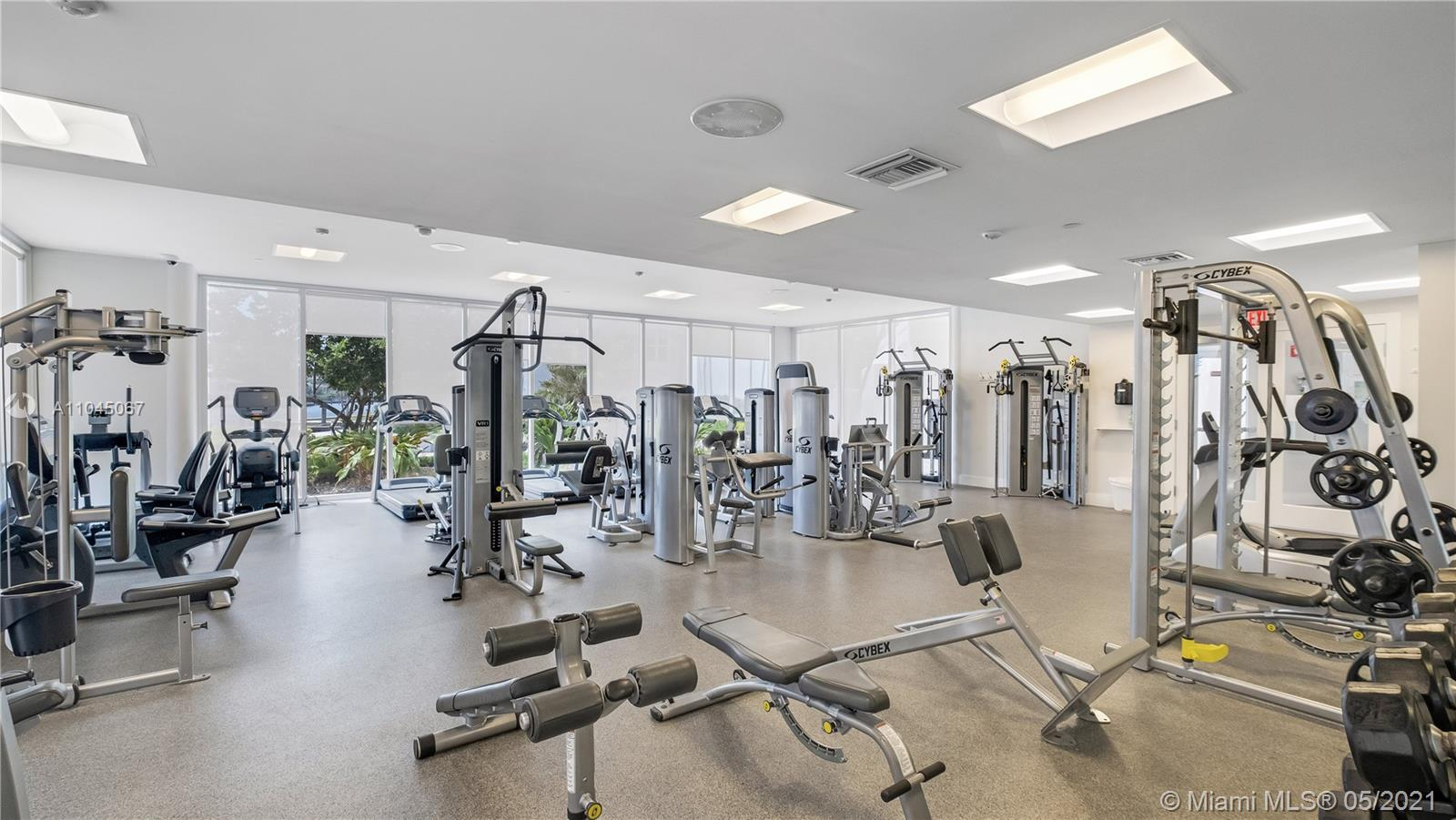Photo of 20281 Country Club Dr #314, Aventura, Florida, 33180 - Clubhouse entry to fitness center and spa.