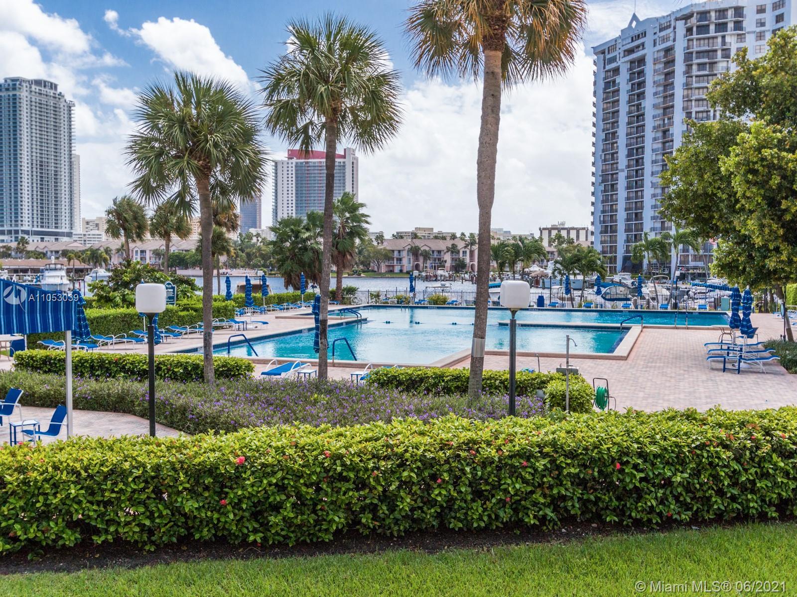 Photo of 600 Three Islands Blvd #312, Hallandale Beach, Florida, 33009 - MARINA POOL AREA
