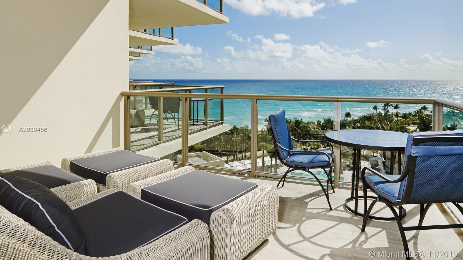 Photo of 9703 COLLINS #1206, Bal Harbour, Florida, 33154 - TWILIGHT BEACH VIEW