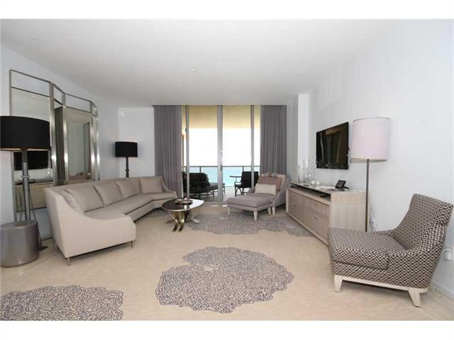 Photo of 9703 COLLINS #1206, Bal Harbour, Florida, 33154 - OPEN LIVING DINING KITCHENETTE